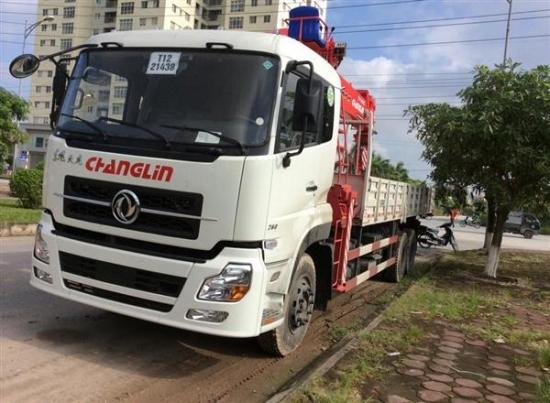Bán Xe tải gắn Cẩu UNIC 12 tấn