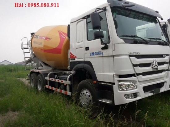 Bán xe trộn bê tông HOWO thùng trộn XCMG 10m3