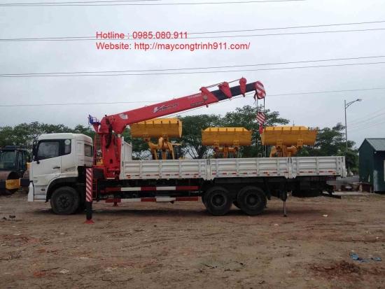 Bán Xe tải gắn cẩu Unic 8 tấn Năm 2015