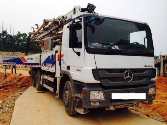 Bơm bê tông cần 40m Mercedes Benz - Zoomlion Cifa